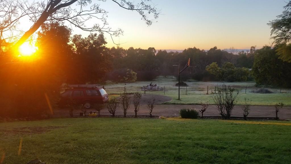 Glenrowan sunrise S