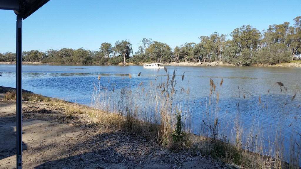 Renmark camp Murray River Sml