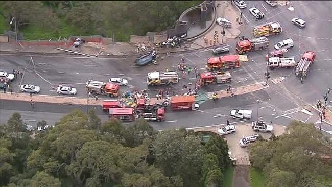 SE Freeway Crash